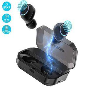 BeSido BE EH001 TWS Bluetooth 5.0 Kopfhörer mit 120h Spielzeit inkl. Ladebox für 28,50€