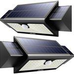 2er Set: Solarleuchte für Außen mit 71 LEDs & Bewegungsmelder für 22,99€ (statt 46€)
