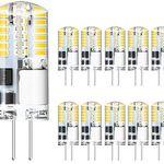10er Pack: G4 LED Lampe mit 3W warmweiß für 5,99€ – Prime