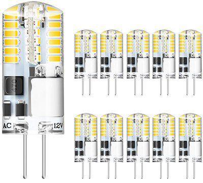 10er Pack: G4 LED Lampe mit 3W warmweiß für 5,99€   Prime