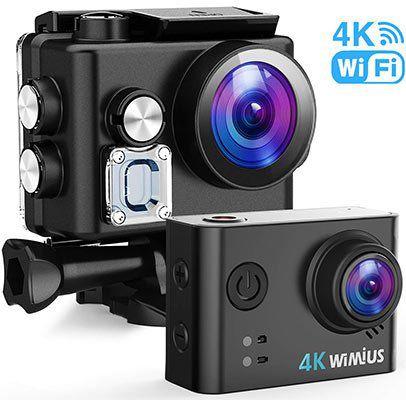 WiMiUS L2   4K Actioncam für 23,60€ (statt 59€)