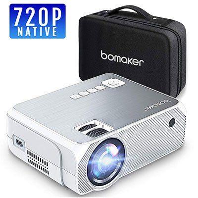 BOMAKER 720p Beamer mit 3000 Lumen für 74,79€ (statt 110€)