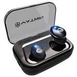 YATWIN Bluetooth 5.0 Kopfhörer mit Schnellladung, Noise Cancelling & mehr für 27,59€ (statt 46€)
