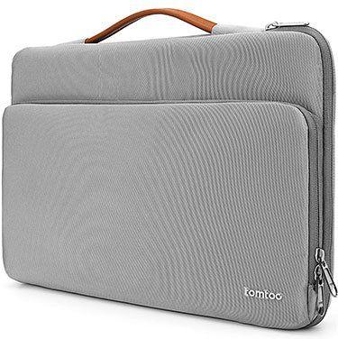 tomtoc Laptoptasche für bis zu 13,5 in Grau für 19,49€ (statt 26€)