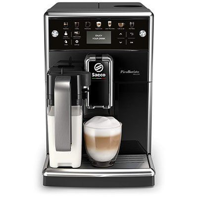 Saeco SM5572/10 PicoBaristo Deluxe Kaffeevollautomat mit integriertem Milchsystem für 499€ (statt 687€)