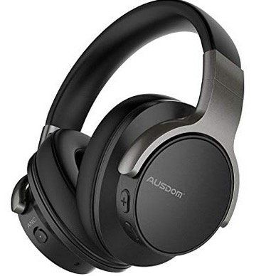 Ausdom ANC8 ActiveNoise CanceIIing Bluetooth Kopfhörer mit 400mAh Akku für 36,99€ (statt 50€)