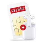 Apple AirPods (2. Generation) + o2 Allnet-Flat von Ay Yildiz mit 4,5GB LTE für 14,99€ mtl.