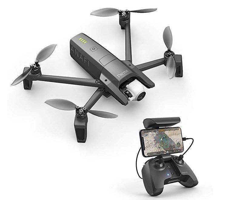 PARROT ANAFI   4K Top Drohne für 599,90€ (statt 647€)