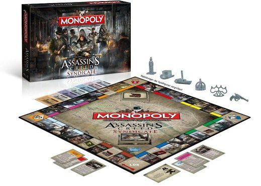 Winning Moves Monopoly Assassins Creed Syndicate für 21,99€ (statt 32€)