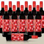 Bebame Tempranillo – 12 Flaschen spanischer Rotwein für 31,99€
