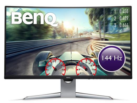 BenQ EX3203R   32 Zoll curved WQHD Monitor mit 144 Hz für 386,10€ (statt 440€)