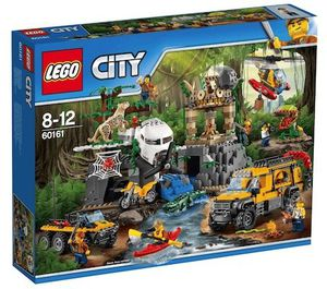 Lego City 60161 Dschungel Forschungsstation für 54,99€(statt 65€)