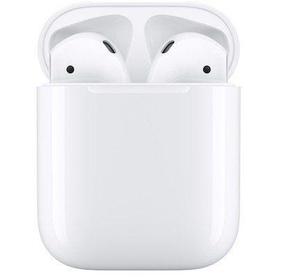 Apple AirPods (2019) mit Ladecase für 159,99€ (statt 173€)   bei PayDirekt Zahlung