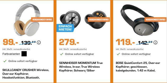 Saturn Sound Woche   z.B. Sennheiser PXC 550 für 229€