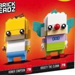Lego BrickHeadz – 41632 Homer Simpson & Krusty der Clown für 23,94€(statt 31€) oder 2er Pack für 33,98€