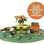 Prima Garden Garten-Kleingeräte-Set inkl. Pflanzunterlage für 34,99€