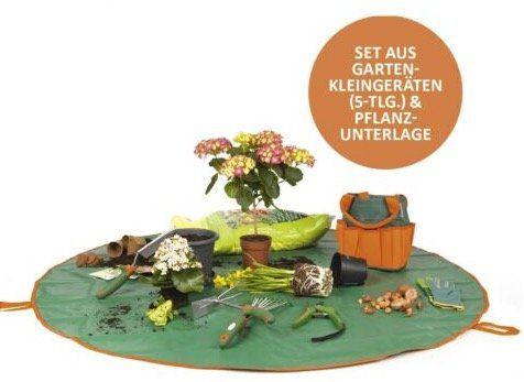 Prima Garden Garten Kleingeräte Set inkl. Pflanzunterlage für 34,99€