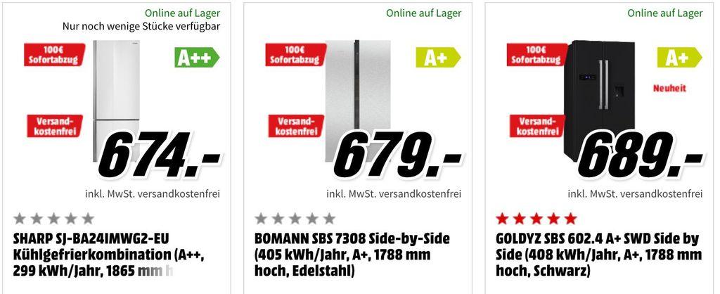 MediaMarkt: 100€ Sofortabzug auf viele Küchengeräte ab 499€ mit kostenloser Lieferung