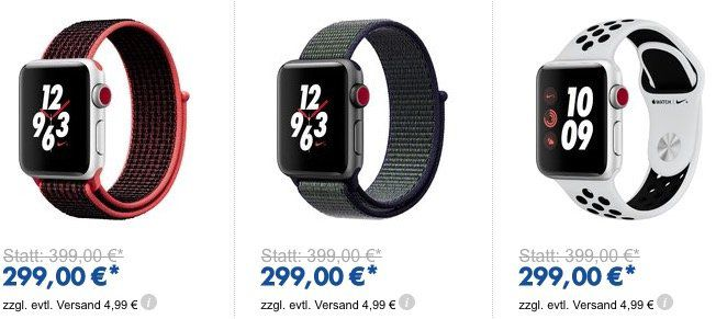 🔥 Günstige Apple Watches Bei Euronics   z.B. Apple Watch Series 3 GPS 42mm ab 279€(statt 310€)