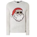 Only & Sons Pullover mit Weihnachtsmann-Motiv für 9,99€ (statt 24€) – nur S & L