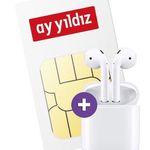 Apple AirPods + o2 Allnet-Flat von Ay Yildiz mit 12GB LTE für effektiv 18,99€ mtl.