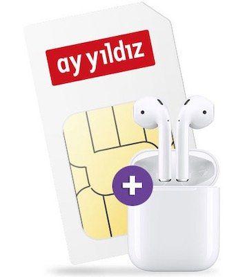 Apple AirPods + o2 Allnet Flat von Ay Yildiz mit 12GB LTE für effektiv 18,99€ mtl.