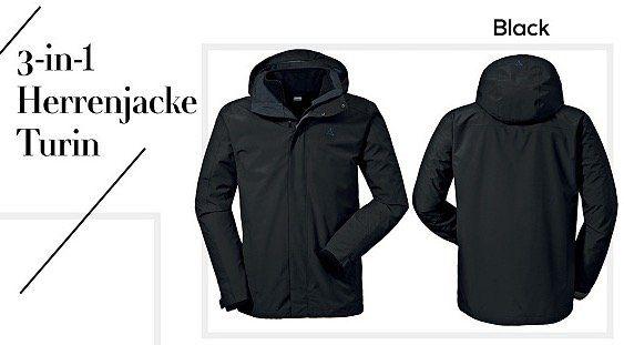 Schöffel Outdoorjacken bei vente privee   z.B. Schöffel Turin 3 in 1 Jacke für 85,99€ (statt 110€)