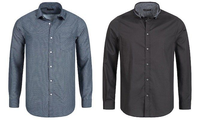 Process Black Shade Herren Langarm Hemden für je 5,55€ zzgl. VSK