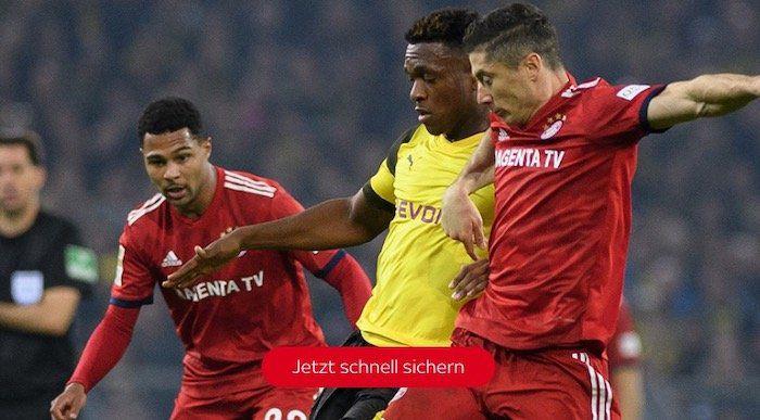 Bayern vs. Dortmund: Sky Supersport Ticket 1 Monat für 9,99€ (statt 30€)   monatlich kündbar