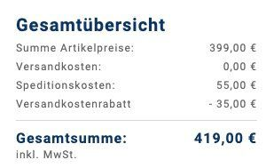 Bosch WAN 281KA Waschmaschine mit 7kg und A+++ für 419€ inkl. Komfort Lieferung