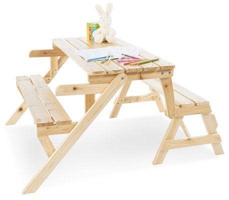 Pinolino Elli 2in1 Kindersitzgarnitur aus Holz für 44,44€ (statt 63€)