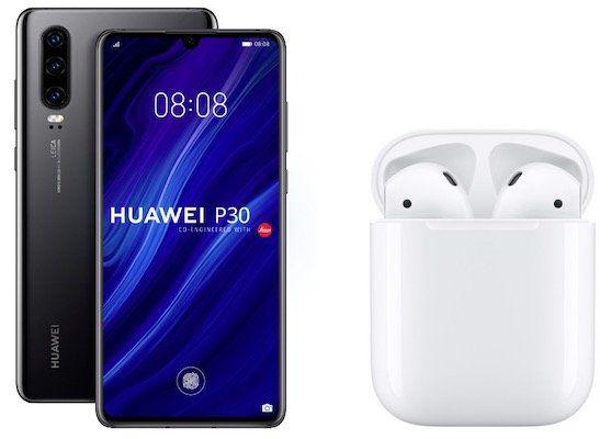Huawei P30 + Apple AirPods für 4,95€ + Telekom Allnet Flat mit 13GB LTE für 46,95€mtl.   mit MagentaEins