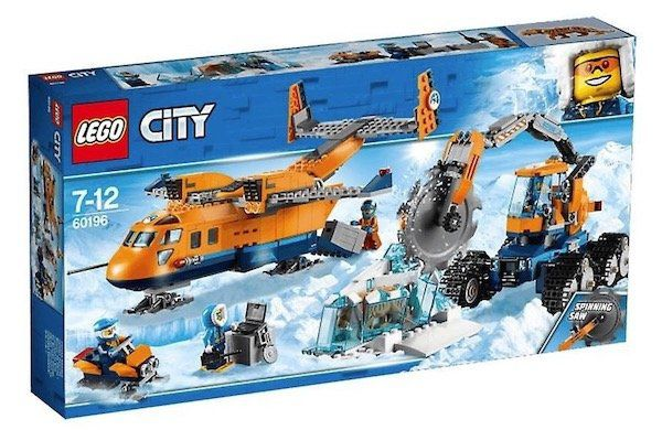 Lego City Arktis Versorgungsflugzeug (60196) für 47€ (statt 70€)