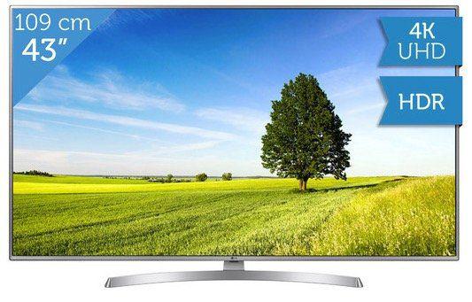 LG 43UK6950   43 Zoll UHD Fernseher mit HDR für 358,90€ (statt 438€)