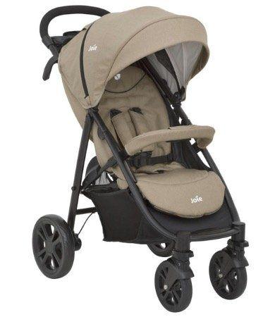 Joie Litetrax 4 Kinder Buggy in Sandstone für 119,99€ (statt 160€)
