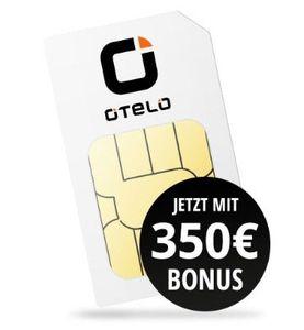 Vodafone Allnet Flat von otelo mit 10GB LTE für eff. 20,41€ mtl. dank 350€ Auszahlung