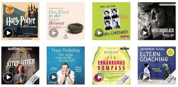 4 audible Hörbücher gratis für Amazon Prime Kunden   nur Neukunden