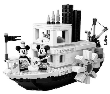 Lego Micky Maus Steamboat Willie für 68,29€ (statt 89€)