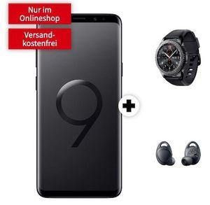 🔥 Samsung Galaxy S9+ Dual SIM + Samsung Gear S3 frontier & Samsung Gear IconX 2018 für 49€ + Vodafone Flat mit 4GB LTE für 31,99€ mtl.