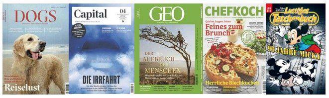DPV Sommer Kampagne mit richtig guten Zeitschriften Abos + sehr gute Prämien