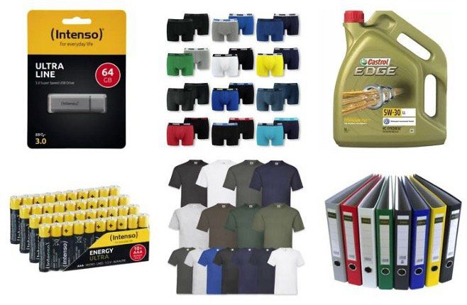 eBay: kauf 3, zahl 2 auf ausgewählte Produkte   z.B. 3x Intenso USB Stick 64GB für 19€ (statt 27€)   Endet heute!