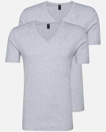 2er Pack G Star RAW T Shirts mit V Neck für 21,55€ (statt 30€)