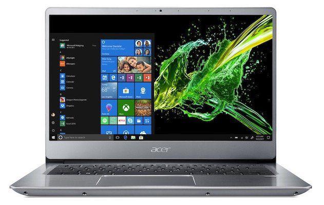 Acer Swift 3 (SF314 56)   14 Zoll FHD Notebook mit 512GB + Win 10 für 704,95€(statt 836€) + 100€ Cashback