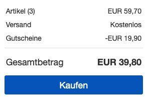 6 faltbare Campingstühle mit Getränkehalter für 39,80€ (statt 48€)