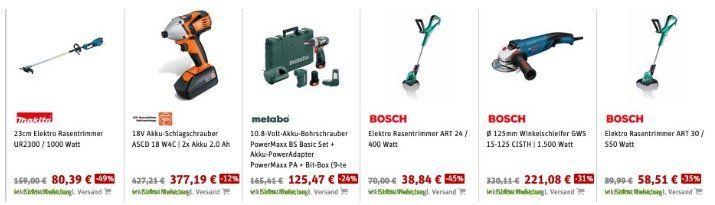 SVH24 Ostersale mit vielen Garten  und Werkzeugdeals   dazu zusätzlich 15% Rabatt z.B. Makita, Bosch...