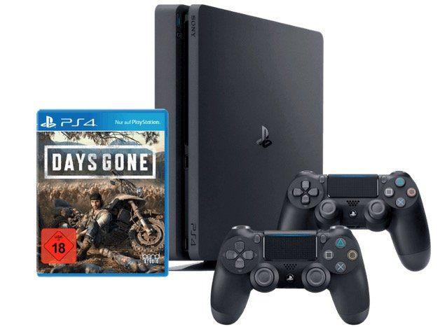 MediaMarkt: PS4 Slim 1TB inkl. 2 Controller + Spiel Days Gone für 379€ (statt 436€)