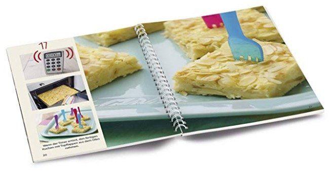 Becherküche Plätzchen, Kekse, Cookies & Co. + 5 Messbecher + EASYmaxx Frischhaltedosen für 18,99€