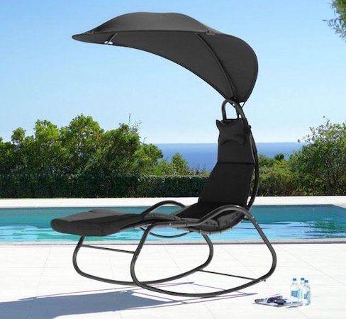 Relaxsessel Cori inkl. Auflage, Kissen & Dach für 56€ (statt 80€)