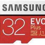 Samsung microSDHC EVO Plus (32GB) für 4,75€ (statt 7€)