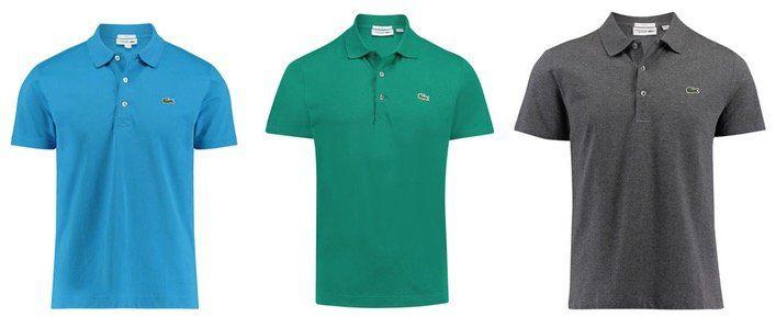 Lacoste Herren Poloshirt Slim Fit Kurzarm viele Farben und Größen 41,70€ (statt 50€)   bei 2 Stück je 38,30€